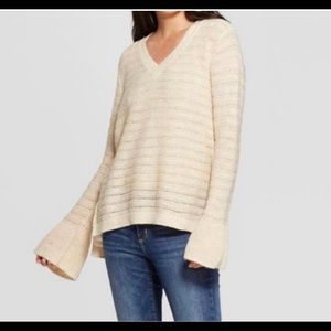 Knox Rose Woman Sweater Crochet Lightweight Sz: XL